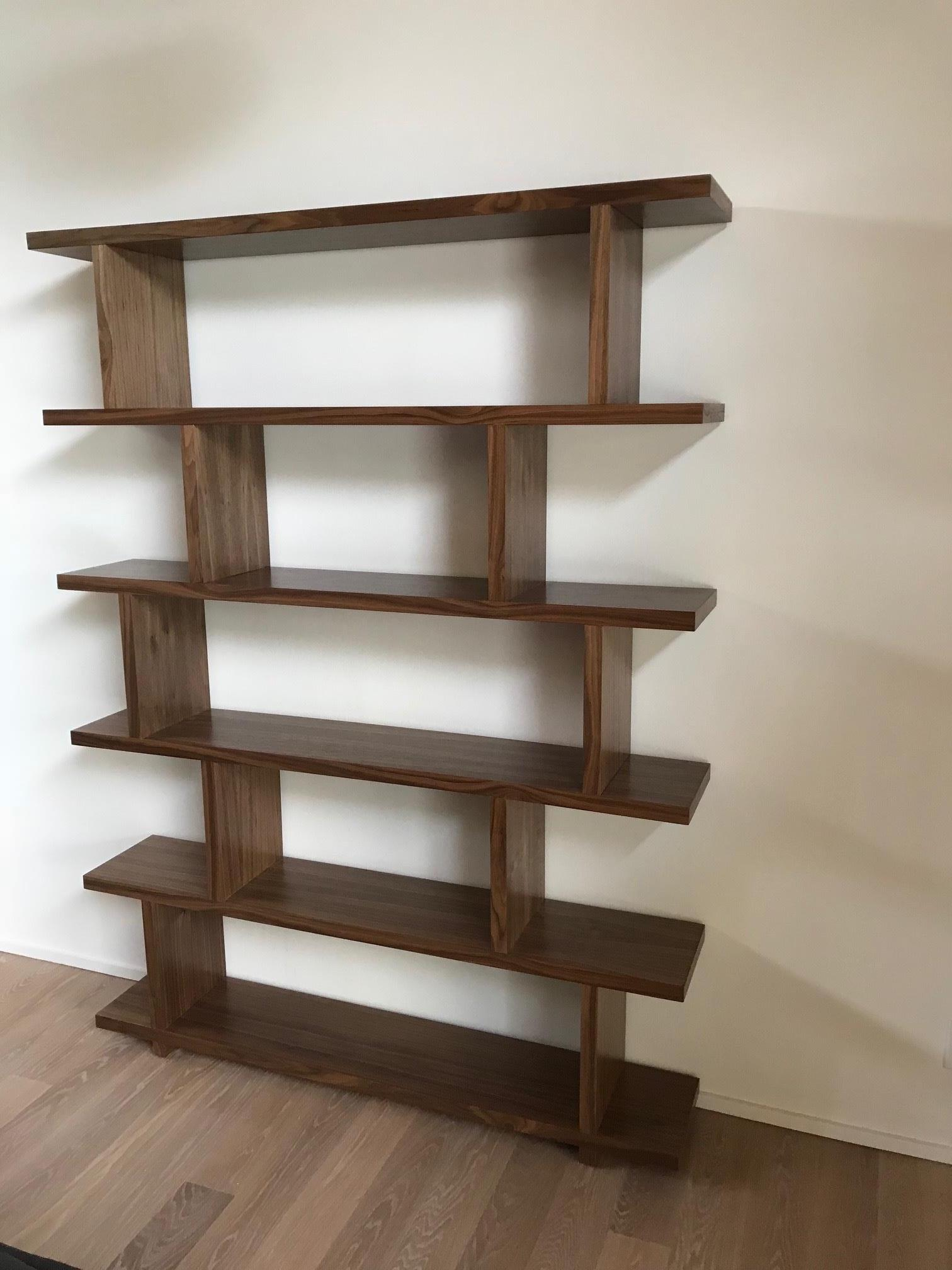Open End Geometric Bookcase