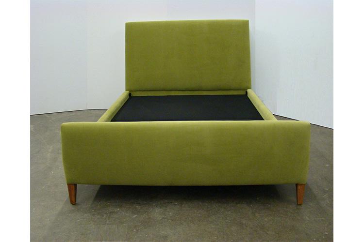 la bella cosa culver city upholstered straight bed